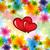 coloré · vague · amour · printemps · coeur · art - photo stock © pinnacleanimates