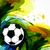 fútbol · fútbol · diseno · vector · Splash · ilustración - foto stock © Pinnacleanimates