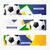 fútbol · diseno · vector · establecer · fútbol - foto stock © Pinnacleanimates