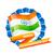 indio · bandera · etiqueta · diseno · arte · resumen - foto stock © pinnacleanimates