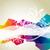 vektör · dalga · soyut · arka · plan · duvar · kağıdı · temizlemek - stok fotoğraf © pinnacleanimates