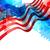 quarto · bandeira · americana · feliz · dia · projeto · abstrato - foto stock © pinnacleanimates