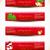 Noel · ayarlamak · dizayn · elemanları · kırmızı · altın - stok fotoğraf © pinnacleanimates