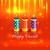 diwali · vector · feliz · luz · arte · lámpara - foto stock © Pinnacleanimates