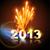 gelukkig · nieuwjaar · 2013 · vuurwerk · eps10 · vector - stockfoto © pinnacleanimates