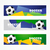 fútbol · establecer · fútbol · diseno · fondo · equipo - foto stock © Pinnacleanimates
