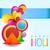 mooie · indian · festival · wenskaart · kleurrijk · stijlvol - stockfoto © pinnacleanimates