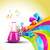 roxo · médico · garrafa · ilustração · branco · gráfico - foto stock © pinnacleanimates