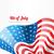 EUA · bandeira · estilo · vetor · vento · branco - foto stock © pinnacleanimates