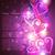rózsaszín · fényes · szív · valentin · nap · szeretet · absztrakt - stock fotó © pinnacleanimates