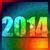 colorido · 2014 · ano · novo · feliz · ano · novo · estilo · feliz - foto stock © pinnacleanimates