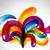 stylish colorful bubbles stock photo © pinnacleanimates