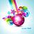 disco · ball · retro · partij · dans · licht · achtergrond - stockfoto © pinnacleanimates