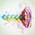 funky · estilo · colorido · diseno · elegante · resumen - foto stock © Pinnacleanimates