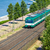 green suburb train in budapest stock photo © pixachi