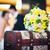 ramo · de · la · boda · novia · novio · mujer · boda · moda - foto stock © pixachi