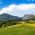 a beautiful view of the austrian alps with typical mountain hous stock photo © pixachi