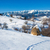 typical winter scenic view with hayracks stock photo © pixachi
