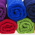 colorful towels cotton terry stock photo © pixelman