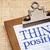 gondolkodik · pozitív · emlékeztető · jegyzet · viharvert · fa - stock fotó © pixelsaway