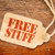 free stuff sign on a price tag stock photo © pixelsaway