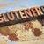 glutenvrij · tekst · dieet · geïsoleerd · woorden · vintage - stockfoto © pixelsaway