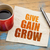 give gain and grow on napkin stock photo © pixelsaway