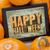 happy halloween on tablet stock photo © pixelsaway