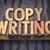 copywriting word abstract in wood type stock photo © pixelsaway