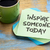 inspire someone today note with coffee stock photo © pixelsaway