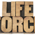 life force in wood type stock photo © pixelsaway
