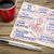 conseils · bien · serviette · doodle · vintage - photo stock © pixelsaway