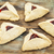 raspberry hamantaschen pastry stock photo © pixelsaway