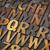 letterpress alphabet abstract stock photo © pixelsaway