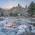 winter · schemering · bergen · adelaar · nest · rock - stockfoto © pixelsaway