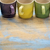 colorful stoneware coffee cups stock photo © pixelsaway