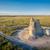 замок · рок · Канзас · прерия · известняк - Сток-фото © pixelsaway