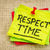 respect time reminder note stock photo © pixelsaway