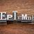 september month in metal type stock photo © pixelsaway
