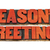 season greetings in letterpress wood type stock photo © pixelsaway