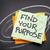encontrar · propósito · pensar · meta · começar · passo - foto stock © pixelsaway