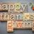 feliz · acción · de · gracias · día · madera · tipo · texto - foto stock © pixelsaway