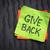 give back inspirational reminder stock photo © pixelsaway