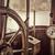 vintage · schip · stuur · motor · brug · metaal - stockfoto © pixelsaway