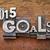 2015 goals in metal type stock photo © pixelsaway