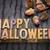 happy halloween greeting card stock photo © pixelsaway