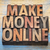 make money online in wood type stock photo © pixelsaway