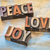 amor · palavra · velho · impressão · blocos - foto stock © pixelsaway