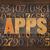 apps applications word in wood type stock photo © pixelsaway