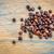 fekete · gabona · gluténmentes · levél · alakú · kerámia - stock fotó © pixelsaway